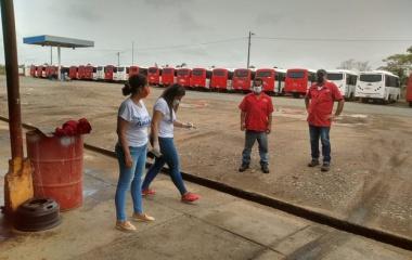 TRABAJAMOS EN LA PREVENCIÓN DEL COVID-19 EN EL TRANSPORTE PÚBLICO  DE MONTERÍA