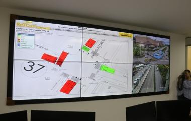 Encendido Centro De Control Semafórico En Montería