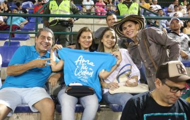 La cultura ciudadana se tomó el Estadio de Béisbol